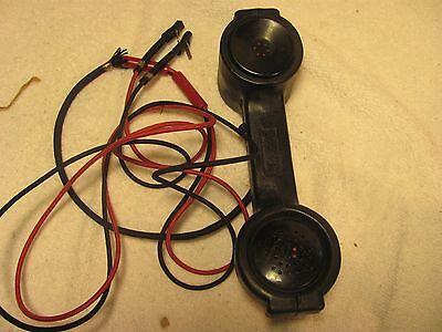 Linemans telephone, Bell by Western Electric