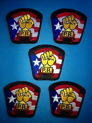5 Lot 1970's Puerto Rico Tae Kwon Do Association Martial Arts MMA Hat Gi Patches