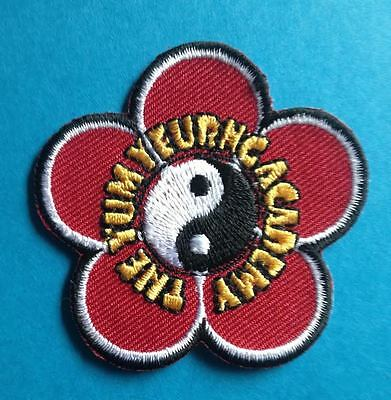 The Yum Yeurng Acadamy Wing Chun Martial Arts Gi Jacket Patch Crest 343