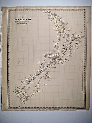 1838 SDUK: Map of New Zealand - 1st edition