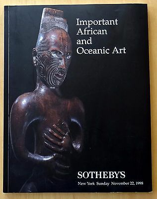 Important African and Oceanic Art 1998 Sotheby's Auction Catalogue