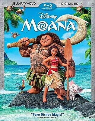 Moana [New Blu-ray] With DVD, 2 Pack, Ac-3/Dolby Digital, Digitally Mastered I