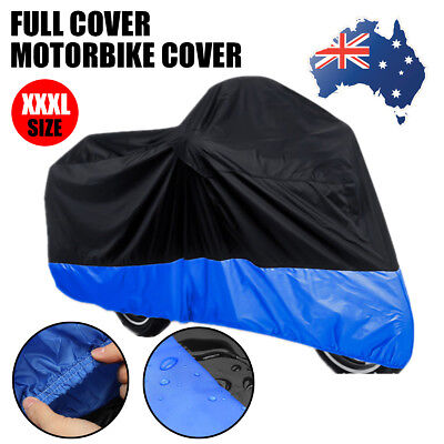 XXXL Waterproof UV Outdoor Motorcycle Motorbike Cruiser Scooter Motor Bike Cover