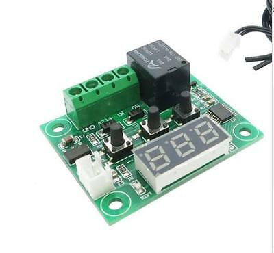 W1209 Blue LED DC 12V heat cool temp thermostat temperature control switch Board