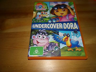 Dora The Explorer: Undercover Dora Dvd