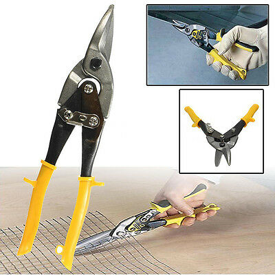 Aviation Tin Snips Sheet Metal Straight Cut Heavy Duty Shear Scissors Tool