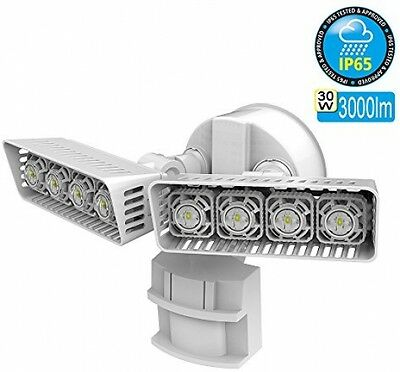 LED Motion Activated Security Light Porch Lamp Wall Mounted Outdoor Driveway