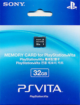 Official Sony PS Vita Playstation PSV 32GB Memory Card Brand New Sealed