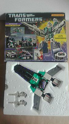 Transformers G1 Iperbot Sixshot In Scatola Gig Completo