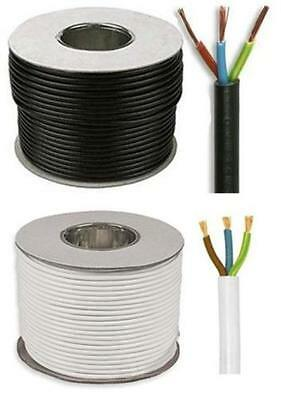 Black White Flexible Cable Wire 0.75Mm 1Mm 1.5Mm 2 3 4 5 Core