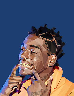"MX19814 Kodak Black - American Hip Hop Trap Music Star 14""x18"" Poster"