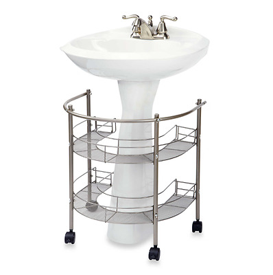 Rolling sink Organizer Cart Storage