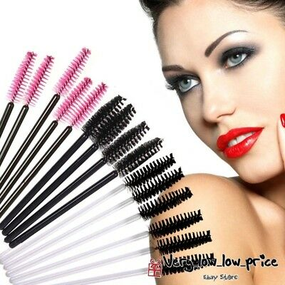 New Disposable Eyelash Wands Mascara Brushes Lash Extension Applicator Spoolers