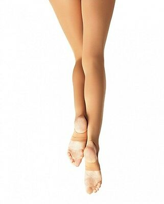 Capezio Ultra Soft Stirrup Tights for Girls New Style 1861C, Size 8-14
