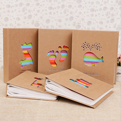 6inch 100-Pocket Cute Cartoon Photo Picture Storage Album Gift For Kids Children