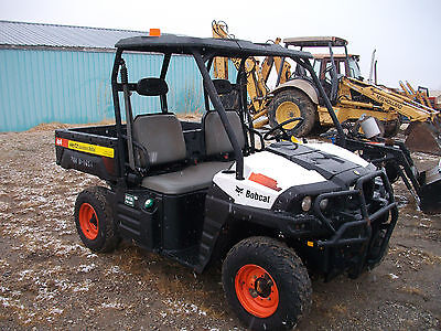 2012 Bobcat 3400 4WD Industrial Diesel Utility Vehicle Dump Bed UTV ATV
