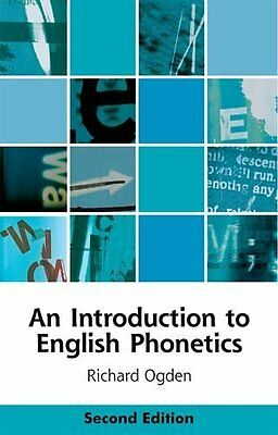 Introduction to English Phonetics by Richard Ogden New Paperback Book