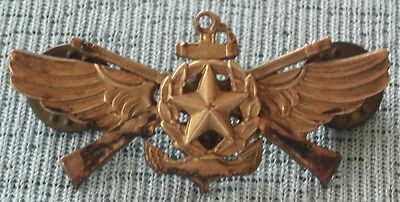 VINTAGE Military NAVY Aviation MARINE Army COMMAND PILOT Badge WINGS