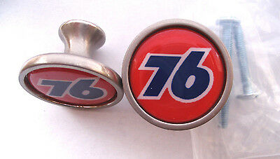 Union 76 Gas Cabinet Knobs, Union 76 Gas Logo Cabinet Knobs, 76 Gas Knobs