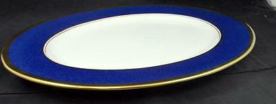 Coalport ATHLONE BLUE Platter Bone China GREAT CONDITION