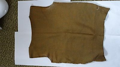 Genuine WWI US Army wool knitted Sweater Vest - rare