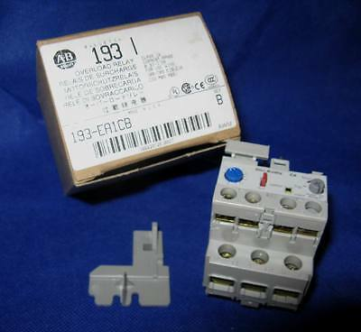 Allen Bradley 193-EA1CB Series B 0.32A-1.0A Overload Relay - NOS - Box and Doc.