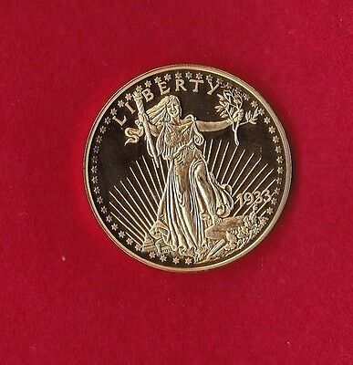 Double Eagle St. Gaudens Gold Coin Copy Fantasy Coin - 2003