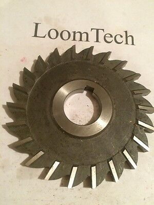 Newly Resharpened Side Milling Cutter 4 X 9/32 X 1 HS