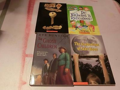 66 A Kids BOOK  Chapter Novels Middle Grade Newbery Scholastic First Ed Teacher