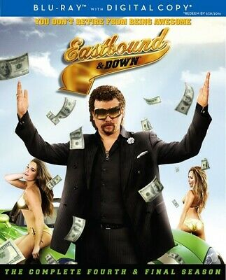 Eastbound and Down: The Complete Fourth Season [New Blu-ray] 2 Pack, Digital C