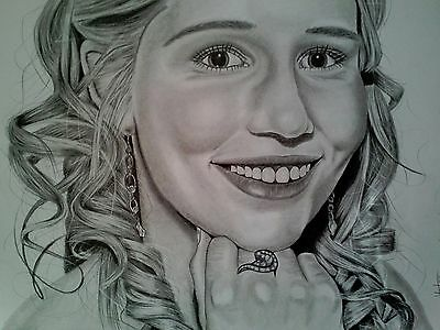 Portrait drawing (pencil art drawings)