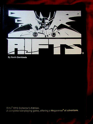 RIFTS CORE RULEBOOK COLLECTOR'S EDITION. Sci-Fi Roleplaying Game (RARE)