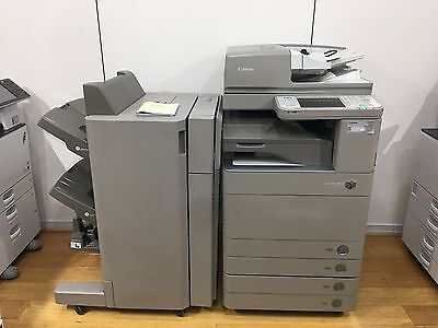 Canon Image Runner C5051 Multifunction copier With Fiery And Booklet Finisher