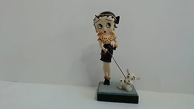 "Betty Boop ""Out for a Stroll"" Collector Figurine FREE SHIPPING w/box"