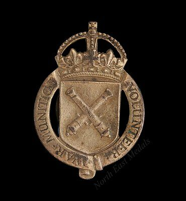 WW1 War Munition Volunteer Lapel Badge