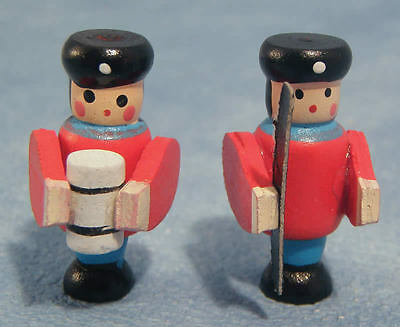 Toy Soldiers, Dolls House Miniatures, Toy Nursery Accessory