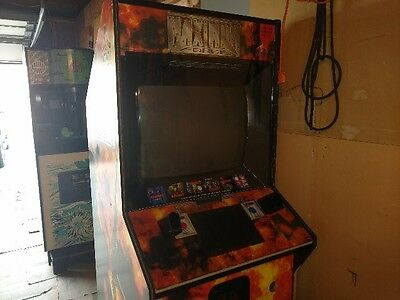 Maximum Force Arcade Machine, Game, NOT WORKING, For Parts