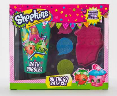 Shopkins On The Go Bath Set For Kids