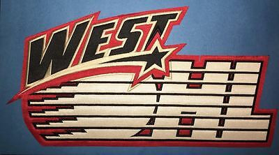 Rare OHL West All Star Game CHL Hockey CCM  Maska Front Jersey Crest Patch