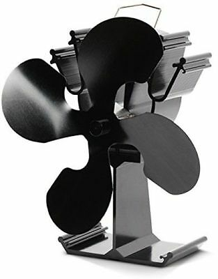 2016 Model - Kenley Heat Powered Eco Friendly Stove Top Fan For Fireplace Wood