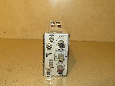 Tektronix 7A18 Dual Trace Amplifier  Plug In (B2)