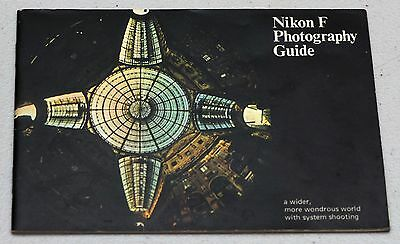 NIKON F Photography Guide Manual Instruction Book Camera Booklet Brochure