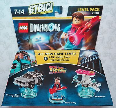 LEGO DIMENSIONS LEVEL PACK BACK TO THE FUTURE Ref 71201 NEW TO BRAND NEW