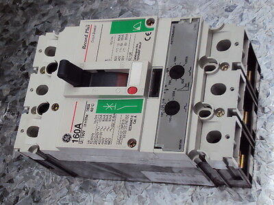 Circuit breaker MCCB (moulded case) 125A FEH36TD125JF   GE Record Plus  FE160