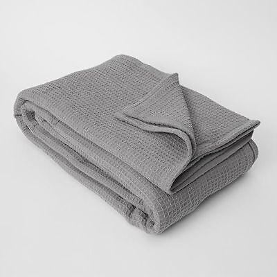 NEW Waffle Cotton Blanket Dimensions: