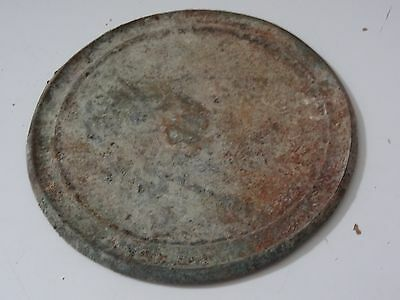 Antique  Mongolian   Brass  Shaman's  Mirror