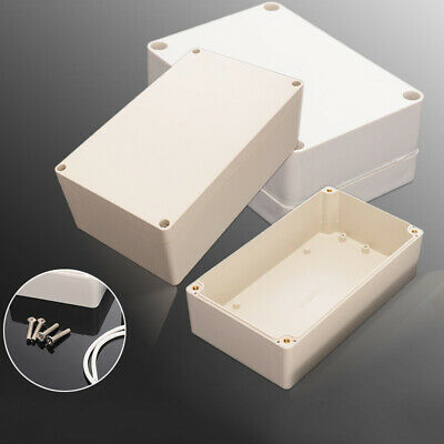 Easy Use Plastic Electronics Project Box Enclosure Instrument Case 6 Sizes