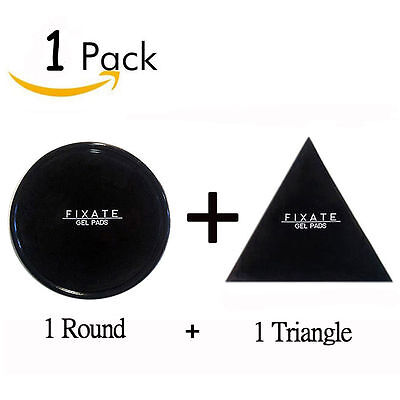 1-5Pack FIXATE GEL PAD Strong Wall Anti-slip Cells Pads Durable Washable Sticker