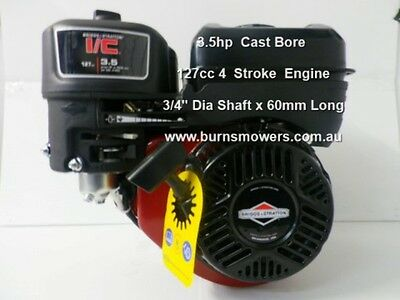 "Briggs & Stratton 5hp Series 163cc 3/4"" Inch Horizontal Shaft 4 Stroke Engine"