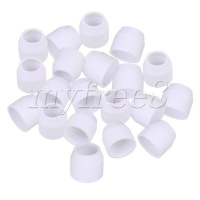20pcs White Ceramics Plasma Cutter Cutting Torch Consumables for P80